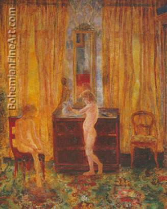 James Ensor, Children Washing Fine Art Reproduction Oil Painting