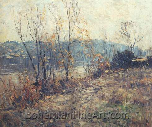 John Folinsbee, The West Shore Fine Art Reproduction Oil Painting