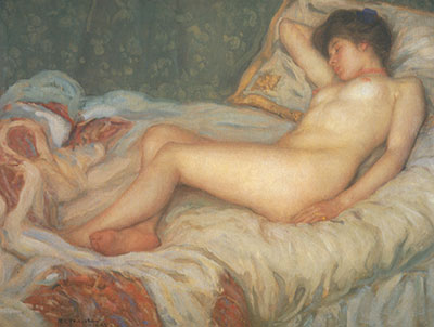 Frederick Frieseke, Sleep Fine Art Reproduction Oil Painting