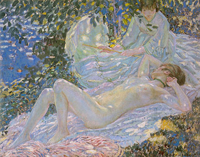 Frederick Frieseke, Summer Fine Art Reproduction Oil Painting