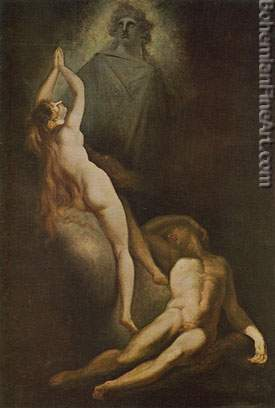 Henry Fuseli, The Creation of Eve Fine Art Reproduction Oil Painting