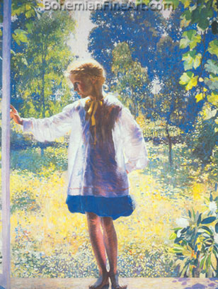 Daniel Garber, Tanis Fine Art Reproduction Oil Painting