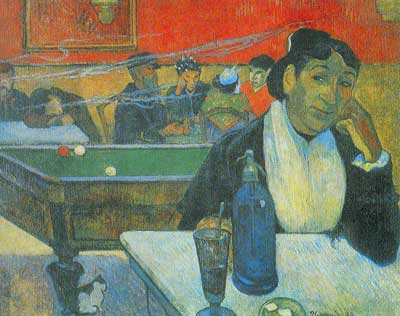 Paul Gauguin, Night Cafe at Arles Fine Art Reproduction Oil Painting