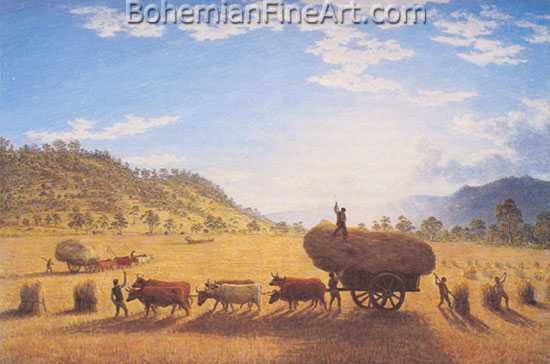 John Glover, My Harvest Home Fine Art Reproduction Oil Painting