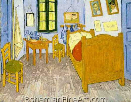 Vincent Van Gogh, Vincent's Bedroom in Arles Fine Art Reproduction Oil Painting