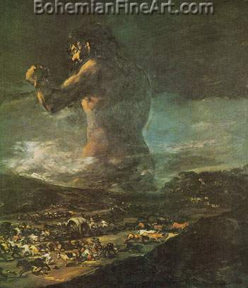 the colossus francisco de goya fine art reproduction oil