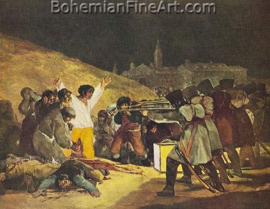 Francisco de Goya, The Third of May Fine Art Reproduction Oil Painting