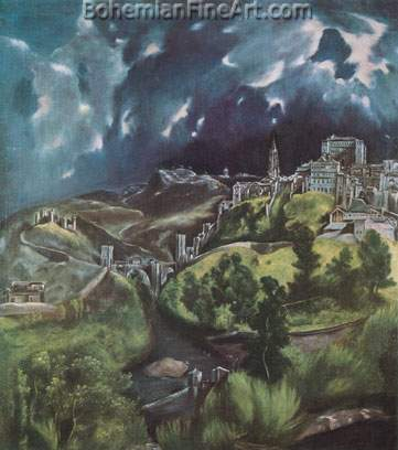 Domenico El Greco, Toledo Fine Art Reproduction Oil Painting