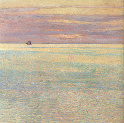 Childe Hassam, Sunset at Sea Fine Art Reproduction Oil Painting