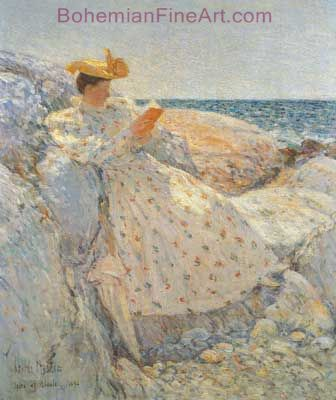 Childe Hassam, Summer Sunlight Fine Art Reproduction Oil Painting