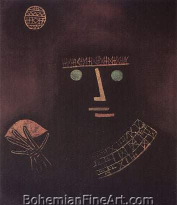 Paul Klee, Black Prince Fine Art Reproduction Oil Painting