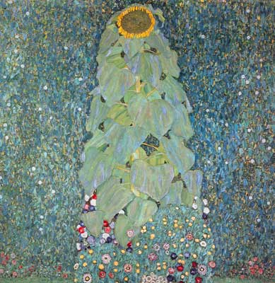Gustave Klimt, The Sunflower Fine Art Reproduction Oil Painting