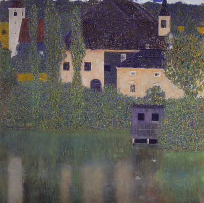 Gustave Klimt, Schloss Kammer on the Attersee I Fine Art Reproduction Oil Painting