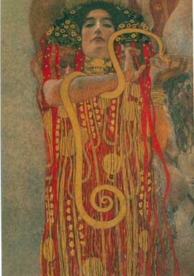 Gustave Klimt, Hygieia Fine Art Reproduction Oil Painting