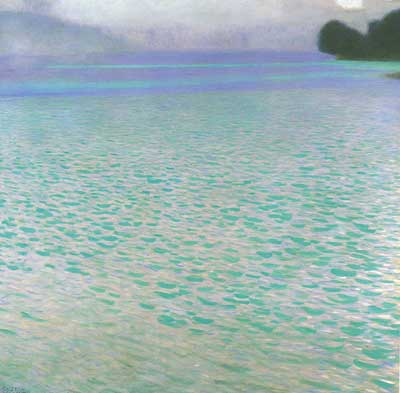 Gustave Klimt, Attersee I Fine Art Reproduction Oil Painting