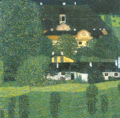 Gustave Klimt, Schloss Kammer on the Attersee II Fine Art Reproduction Oil Painting