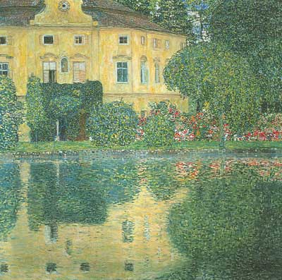 Gustave Klimt, Schloss Kammer on the Attersee IV Fine Art Reproduction Oil Painting