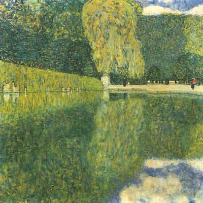 Gustave Klimt, Schonbrunn Park Fine Art Reproduction Oil Painting