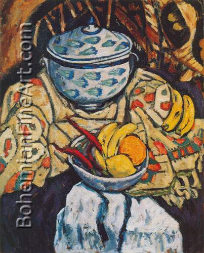 Marsden Hartley, Still Life Fine Art Reproduction Oil Painting