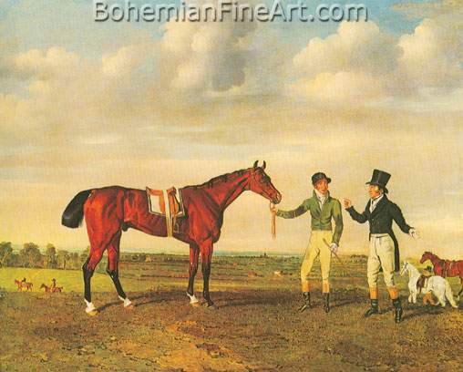 Benjamin Marshall, Ziganee Fine Art Reproduction Oil Painting