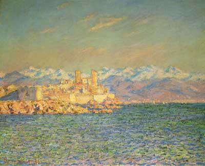 Claude Monet, The Old Fort at Antibes Fine Art Reproduction Oil Painting