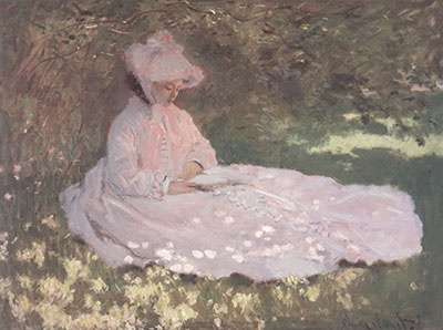 Claude Monet, The Reader Fine Art Reproduction Oil Painting