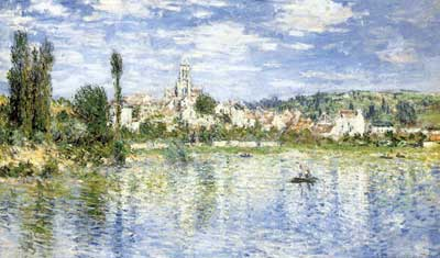 Claude Monet, Vetheuil in Summer Fine Art Reproduction Oil Painting