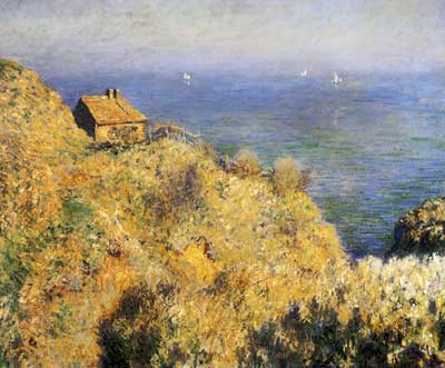 Claude Monet, House of the Fisherman, Varengeville Fine Art Reproduction Oil Painting