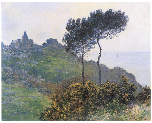 Claude Monet, Church at Varengeville Fine Art Reproduction Oil Painting