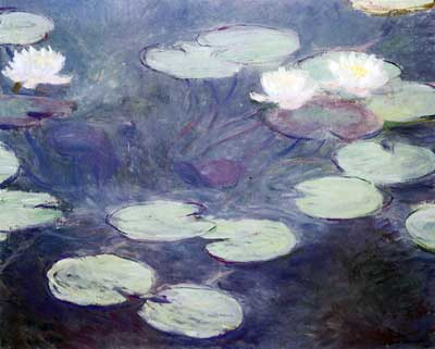 Claude Monet, Pink Water-Lilies Fine Art Reproduction Oil Painting