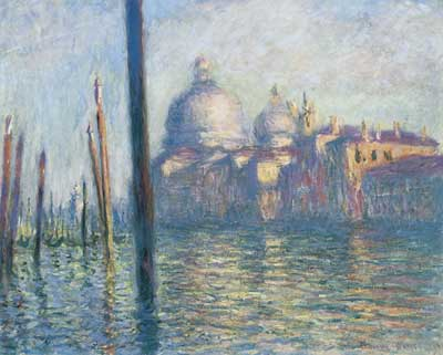 Claude Monet, The Grand Canal Fine Art Reproduction Oil Painting