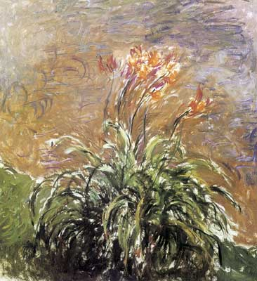 Claude Monet, Hemerocallis Fine Art Reproduction Oil Painting