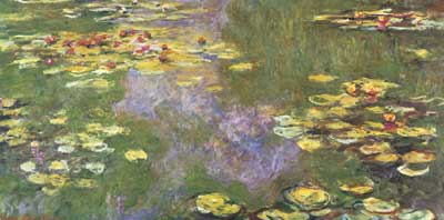 Claude Monet, Water-Lily Pond, Giverny Fine Art Reproduction Oil Painting