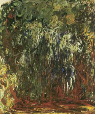 Claude Monet, Weeping Willow, Giverny Fine Art Reproduction Oil Painting