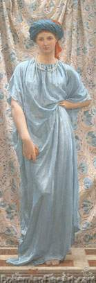 Albert Moore, Sapphires Fine Art Reproduction Oil Painting