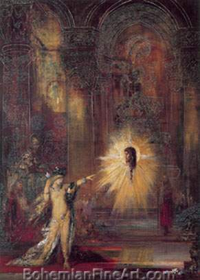Gustave Moreau, The Apparition Fine Art Reproduction Oil Painting
