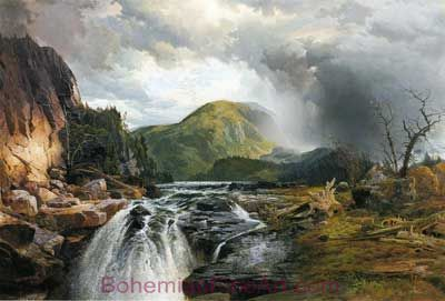Thomas Moran, The Wilds of Lake Superior Fine Art Reproduction Oil Painting