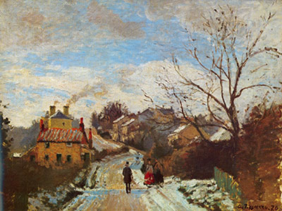 Camille Pissarro, Lower Norwood, London Fine Art Reproduction Oil Painting