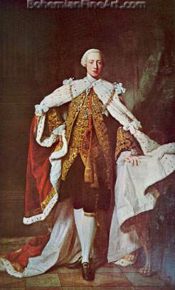 Allan Ramsay, George III as Prince of Wales Fine Art Reproduction Oil Painting