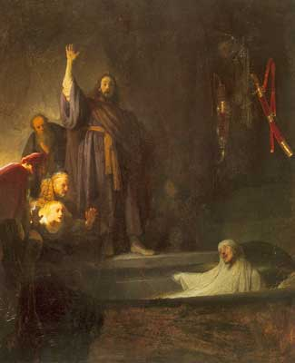 Harmenszoon Rembrandt, The Raising of Lazarus Fine Art Reproduction Oil Painting