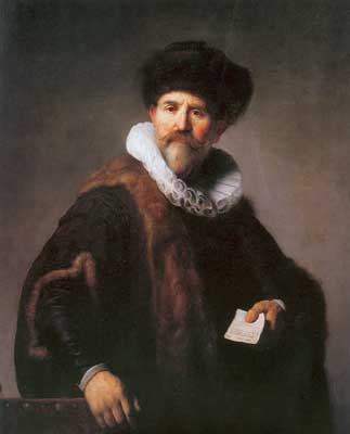 Harmenszoon Rembrandt, The Amsterdam Merchant Nicolaes Ruts Fine Art Reproduction Oil Painting
