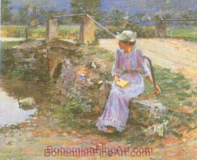 Theodore Robinson, La Debacle Fine Art Reproduction Oil Painting