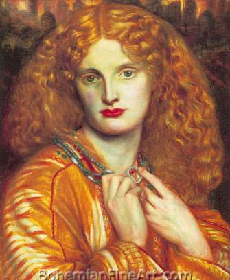 Dante Gabriel Rossetti, Helen of Troy Fine Art Reproduction Oil Painting