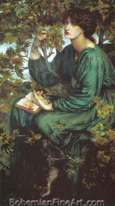 Dante Gabriel Rossetti, The Daydream Fine Art Reproduction Oil Painting
