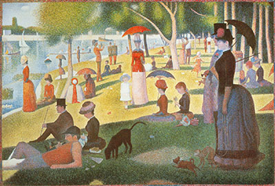 Georges Seurat, A Sunday Afternoon on the Island of La Grande Jatt Fine Art Reproduction Oil Painting