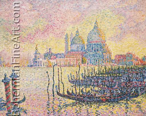 Paul Signac, Grand Canal, Venice Fine Art Reproduction Oil Painting