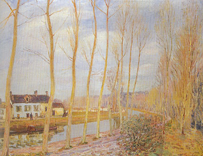 Alfred Sisley, Moret-sur-Loing Fine Art Reproduction Oil Painting