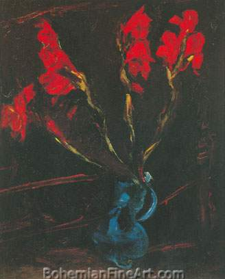 Chaim Soutine, Gladiolas Fine Art Reproduction Oil Painting