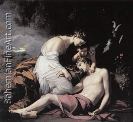 Benjamin West, Venus Lamenting the Death of Adonis Fine Art Reproduction Oil Painting
