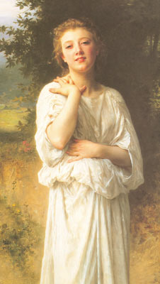 Adolphe-William Bouguereau, Girl Fine Art Reproduction Oil Painting